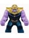 Minifig No: sh504  Name: Big Figure - Thanos with Medium Lavender Arms