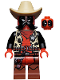 Minifig No: sh520  Name: Sheriff Deadpool (Comic-Con 2018 Exclusive)