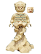 Minifig No: sh537  Name: Sandman, Tan Sand Form with Swirling Base