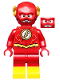 Minifig No: sh549  Name: The Flash - Gold Outlines on Chest and Yellow Boots (76117)