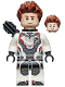 Minifig No: sh570  Name: Hawkeye - White Jumpsuit, Quiver