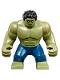 Minifig No: sh577  Name: Big Figure - Hulk with Black Hair and Dark Blue Pants