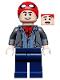 Minifig No: sh582  Name: Peter Parker - Spider-Man Cap