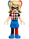 Minifig No: shg002  Name: Harley Quinn - Blue Shorts (41231)
