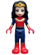 Minifig No: shg014  Name: Wonder Woman - Full Body Armor (41239)