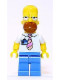 Minifig No: sim001  Name: Homer Simpson with Tie and Badge