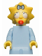 Minifig No: sim011  Name: Maggie Simpson with Worried Look - Minifig only Entry