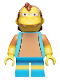 Minifig No: sim018  Name: Nelson Muntz - Minifig only Entry
