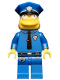Minifig No: sim021  Name: Chief Wiggum - Minifigure only Entry