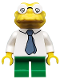 Minifig No: sim036  Name: Hans Moleman - Minifig only Entry