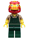 Minifig No: sim039  Name: Groundskeeper Willie - Minifig only Entry