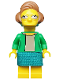 Minifig No: sim040  Name: Edna Krabappel - Minifig only Entry