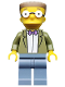 Minifig No: sim041  Name: Waylon Smithers - Minifig only Entry