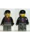 Minifig No: soc055  Name: Soccer Player Red/Blue Team Goalie with #1