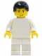 Minifig No: soc071  Name: Soccer Player White Team Player  1