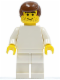 Minifig No: soc072  Name: Soccer Player White Team Player  2