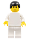 Minifig No: soc080  Name: Soccer Player White Team Player 10