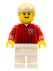 Minifig No: soc089  Name: Soccer Player Red/White Team with shirt #10
