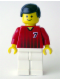 Minifig No: soc138  Name: Soccer Player Red/White Team with shirt  #7