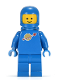 Minifig No: sp004  Name: Classic Space - Blue with Airtanks