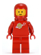 Minifig No: sp005  Name: Classic Space - Red with Airtanks