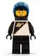 Minifig No: sp013  Name: Futuron - Black