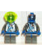 Minifig No: sp021  Name: Insectoids - blue X pattern w/ hoses on side