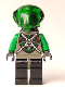 Minifig No: sp025  Name: Insectoids - Green Verniers w/ Silver X Pattern, Airtanks