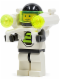 Minifig No: sp051  Name: Blacktron 2 with Jet Pack and Trans-Neon Green Lights