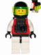 Minifig No: sp054b  Name: M:Tron with Black Jet Pack (Complete Assembly)