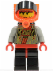 Minifig No: sp058  Name: RoboForce Red with Plain Legs
