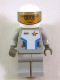 Minifig No: sp087s  Name: Star Justice Astronaut 2 - with Torso Sticker (glasses, gold badge)