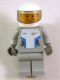 Minifig No: sp088s  Name: Star Justice Astronaut 3 - with Torso Sticker (beard around mouth, silver badge)
