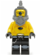 Minifig No: sp100  Name: Space Police 3 Alien - Snake without Visor
