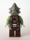 Minifig No: sp102  Name: Space Police 3 Alien - Slizer