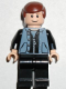 Minifig No: spd031  Name: Peter Parker 3 - Sand Blue Vest, Black Legs