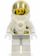 Minifig No: spp005  Name: Space Port - Astronaut C1, White Legs with Light Gray Hips, Breathing Apparatus