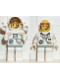 Minifig No: spp006  Name: Space Port - Astronaut C1, White Legs with Light Gray Hips, Rocket Pack