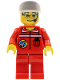 Minifig No: spp008  Name: Space Port - Ground Control, White Cap