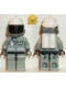 Minifig No: spp010  Name: Fire - Air Gauge and Pocket, Light Gray Legs and Black Hips, White Fire Helmet, Breathing Hose, White Airtanks