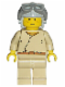 Minifig No: sw0008  Name: Anakin Skywalker (Light Gray Aviator Cap)