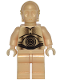 Minifig No: sw0010  Name: C-3PO - Pearl Light Gold