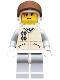 Minifig No: sw0016  Name: Hoth Rebel (Yellow Head, Brown Visor)