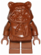Minifig No: sw0050  Name: Ewok, Brown Hood (Wicket)