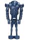 Minifig No: sw0056  Name: Super Battle Droid - Metal Blue