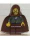 Minifig No: sw0057  Name: Jedi Knight (Dark Gray Tunic, Brown Hood)