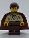 Minifig No: sw0069  Name: Obi-Wan Kenobi (Young with Padawan Braid Pattern)