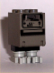 Minifig No: sw0073  Name: Gonk Droid (GNK Power Droid), Light and Dark Gray