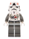 Minifig No: sw0102  Name: AT-AT Driver (Yellow Head)