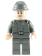 Minifig No: sw0114  Name: Imperial Officer (Captain / Commandant / Commander) - Cavalry Kepi, Smile and Brown Eyebrows
